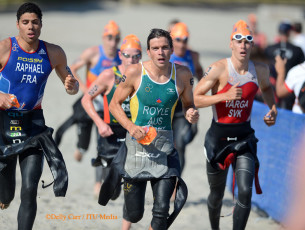 ITU World Triathlon San Diego – Men's Results